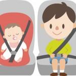 赤ちゃんの車の暑さ対策!チャイルドシートを冷やすには?