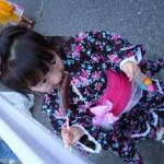 子供の浴衣の髪型で簡単可愛いのは?編み込み・おだんご編