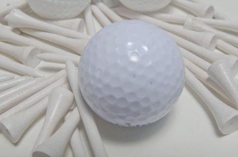 ゴルフボールのプレゼント